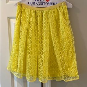 Anthropologie Maeve Lawn Party Skirt 🍋